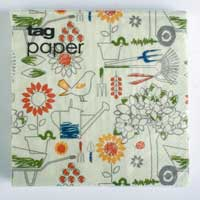 Happy Gardening Paper Luncheon Napkins