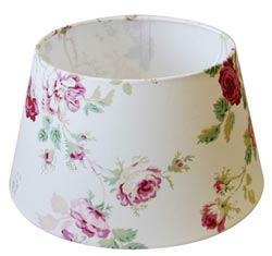 Rugosa Round Lamp Shade in White - 10 inch