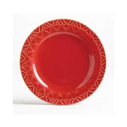 Sierra Stoneware Plate - Cayenne