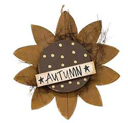 Autumn Sunflower Wall Decor