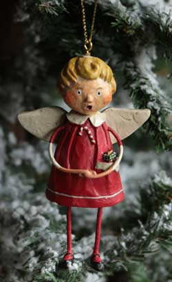 Christmas Angel Boy Ornament