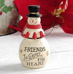 Friends Warm the Heart Snowman