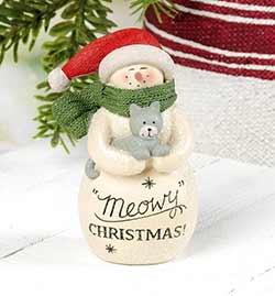 Meowy Christmas Snowman