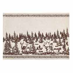 Woodland Christmas Placemats (Set of 6)