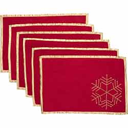 Revelry Placemats (Set of 6)