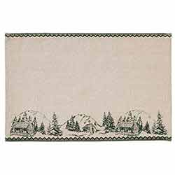 Timberland Christmas Placemats (Set of 6)