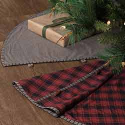 Andes Christmas Tree Skirt - 55 inch