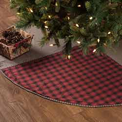 Andes Christmas Tree Skirt - 60 inch