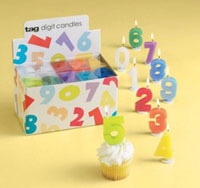 Party Digit Candle