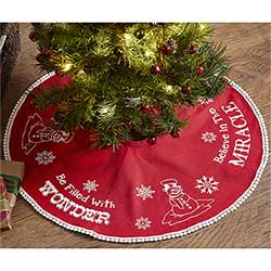 Winter Wonderment Tree Skirt - Mini