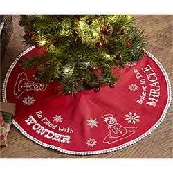 Winter Wonderment Tree Skirt - Mini