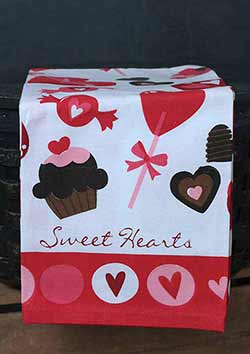 Valentine Printed Kitchen Towel