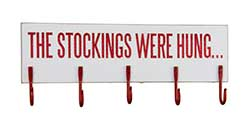 Stockings Hook Board