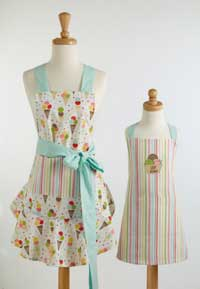 Ice Cream Party Apron