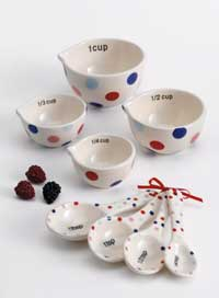 Berry Sweet Dots Measuring Cups Set
