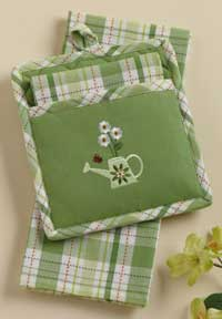 Green Garden Kitchen Set