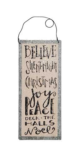 Believe Tile Sign