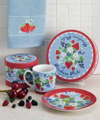 Berry Sweet Porcelain Plate