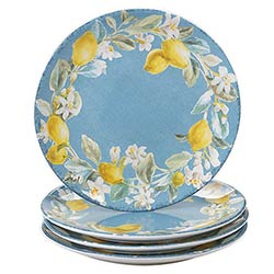 Citron Lemon Dinner Plate