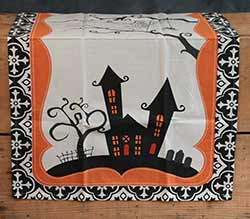 Haunted House Kitchen Towel