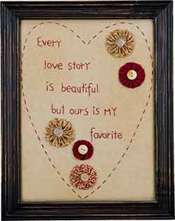 Every Love Story Stitchery