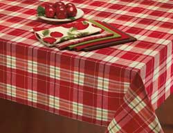 Orchard Plaid Tablecloth - 52 x 52