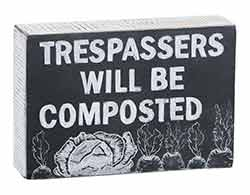 Composted Chalk Board Sign