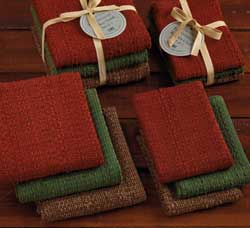 Autumn Woods Heavyweight Dishtowels (Set of 3)