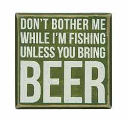 Bring Beer Box Sign