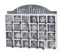 Primitives By Kathy Christmas Chalk Art Countdown Box