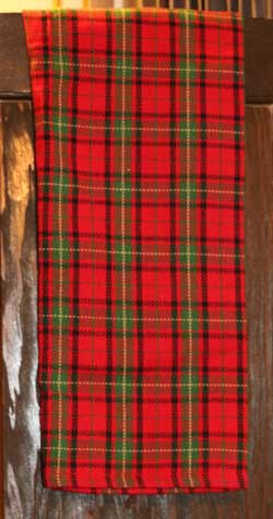 Christmas Plaid Heavyweight Dishtowel