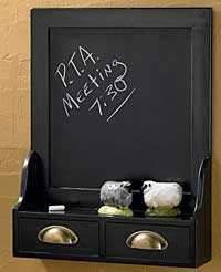 Fairhaven Chalkboard with Drawers
