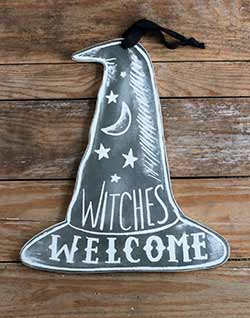 Witches Welcome Chalk Hang-up