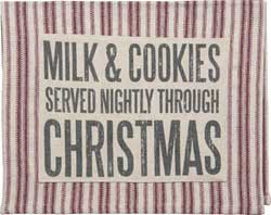 Milk & Cookies Dishtowel