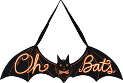 Oh Bats Sign