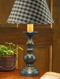 Candlestick Lamp - Black (8.5 inch)