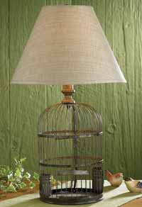 Birdcage Lamp