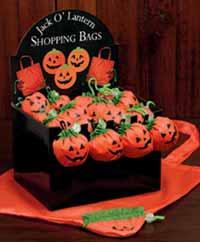 Jack O-Lantern Candy Bag