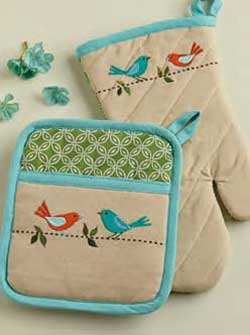 Early Bird Oven Mitt