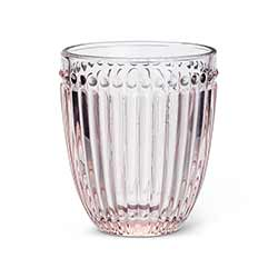 Pink Dot & Panel Tumblers (Set of 6)