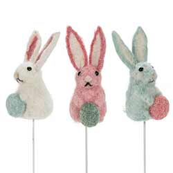 Felt Bunny Picks (Set of 3)