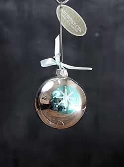 Retro Glass Ornament