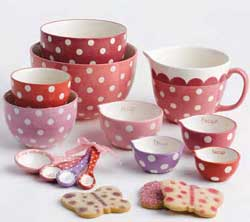 Butterfly Dots Measuring Cup Set
