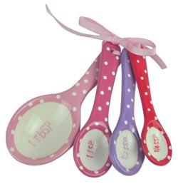 Butterfly Dots Measuring Spoon Set