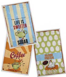 Life is Sweeter Flour Sack Dishtowel