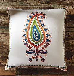 Bali Pillow with Down Fill