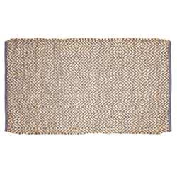 Zuma Grey Jute Rug (27 x 48 inch)