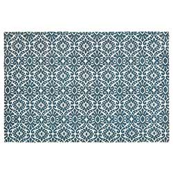 Francesca Deep Teal Rug - 4 x 6 foot