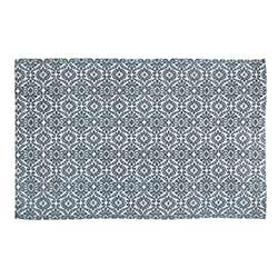 Francesca Deep Teal Rug - 5 x 8 foot