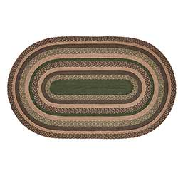 Barrington Braided Rug - 3 x 5 foot